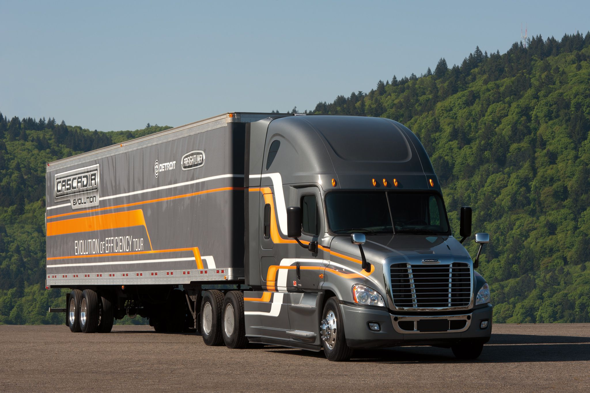 Freightliner Trucks Unveils the Cascadia Evolution Powered by