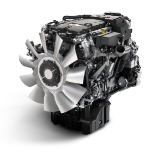 The newest medium-duty engine from Detroit is the DD8, a 7.7-liter in-line 6-cylinder engine.