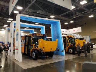Thomas Built Buses Debuts Jouley - The First Generation Saf-T-Liner C2 Electric School Bus
