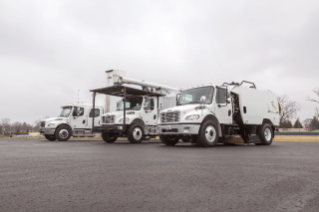 Family shot of versatile Freightliner M2 vocational models