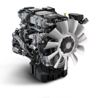 The Detroit DD8 engine