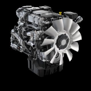 The Detroit DD8 engine