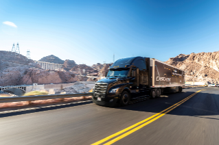 The new Cascadia delivers SAE Level 2 driving capabilities with the Detroit Assurance® 5.0 suite of camera- and radar-based safety systems.