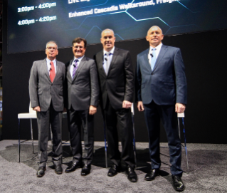 Roger Nielsen, Richard Howard, David Carson & Stefan Kurschner at NACV
